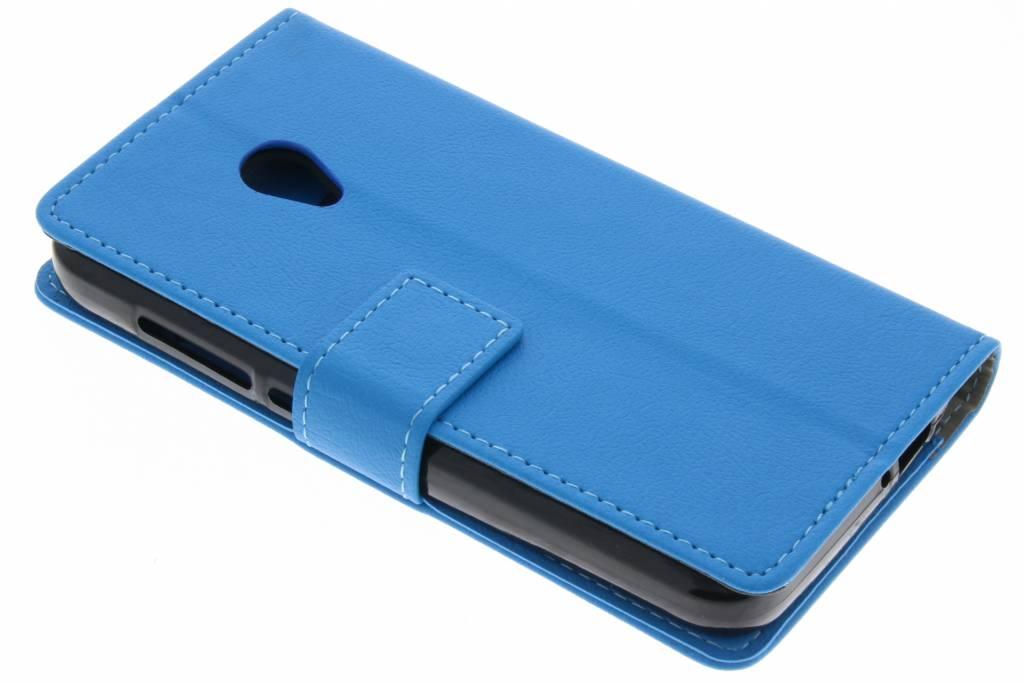 Blauwe TPU Bookcase voor de Alcatel U5 4G