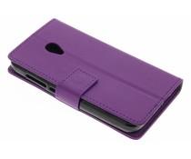 Paars TPU Bookcase Alcatel U5 4G