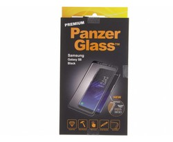 PanzerGlass Zwart Premium Screenprotector Samsung Galaxy S8