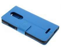 Blauw TPU Bookcase Wiko Upulse Lite