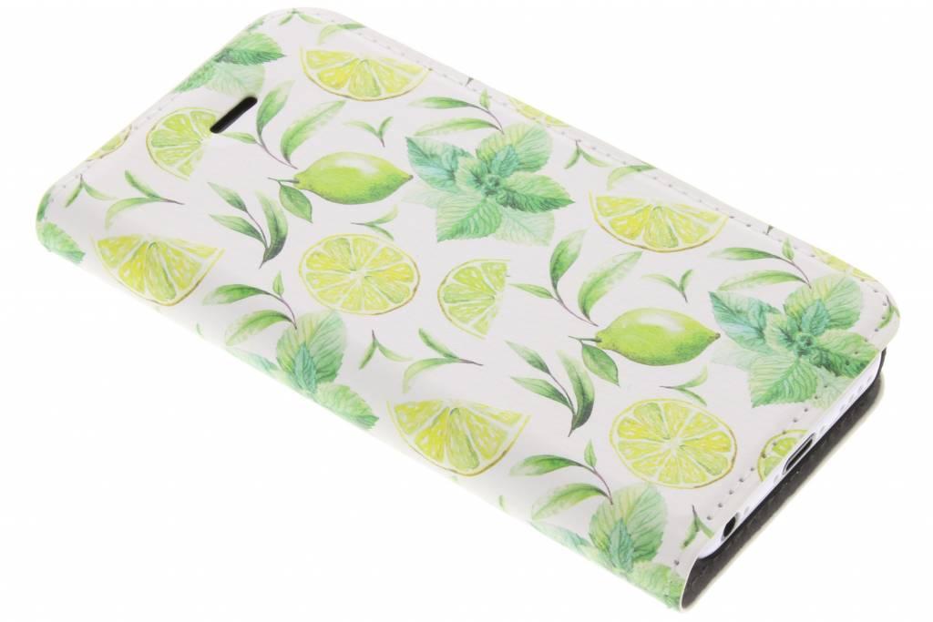 Lemons Watercolor Design Booklet voor de iPhone 5c