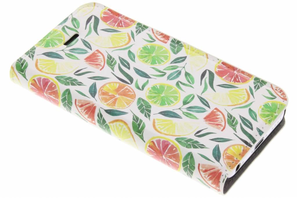 Citrus Watercolor Design Booklet voor de iPhone 5c