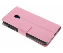 Roze TPU Bookcase Alcatel U5
