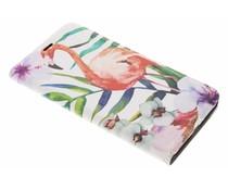 Flamingo Design Booklet Huawei Mate 9