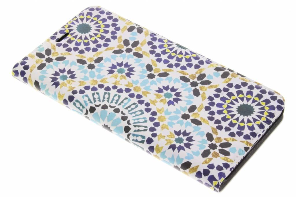 Marrakech Print Design Booklet voor de Huawei Mate 9