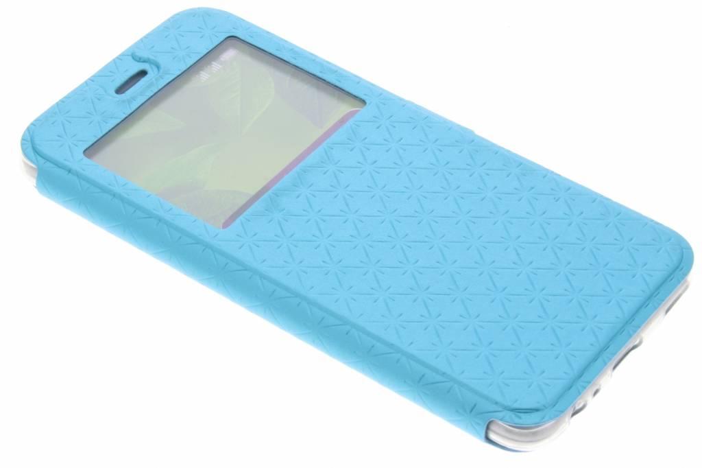 Blauwe Rhombus hoesje voor de Huawei P10
