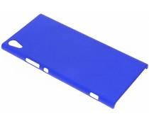 Blauw effen hardcase hoesje Sony Xperia XA1 Ultra