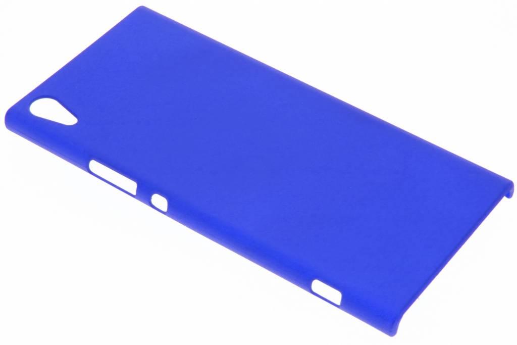 Blauw effen hardcase hoesje voor de Sony Xperia XA1 Ultra