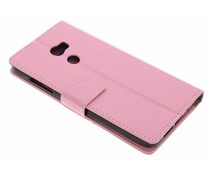 Roze TPU Bookcase HTC One X10