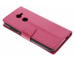 Roze Zakelijke Booklet Alcatel A3