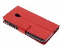 Rood TPU Bookcase Alcatel U5 4G