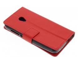 Rood TPU Bookcase Alcatel U5