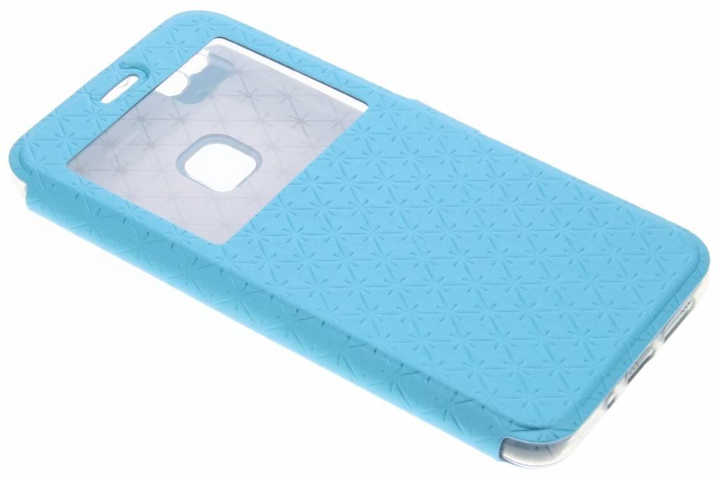Blauwe Rhombus hoesje voor de Huawei P10 Lite