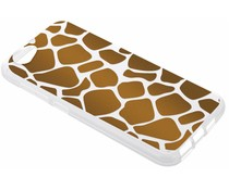 Dierenprint design Giraffe TPU hoesje HTC One A9s
