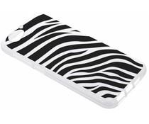 Dierenprint design Zebra TPU hoesje HTC One A9s