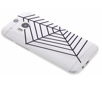 Halloween design TPU hoesje HTC One M8 / M8s