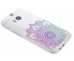 Mandala design TPU hoesje HTC One M8 / M8s