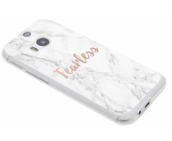 Quote design TPU hoesje HTC One M8 / M8s