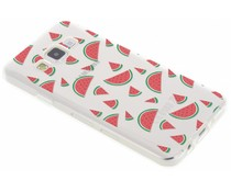 Transparant fruit design TPU hoesje Samsung Galaxy A3