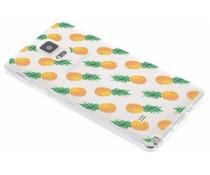 Transparant fruit design TPU hoesje Galaxy Note 4
