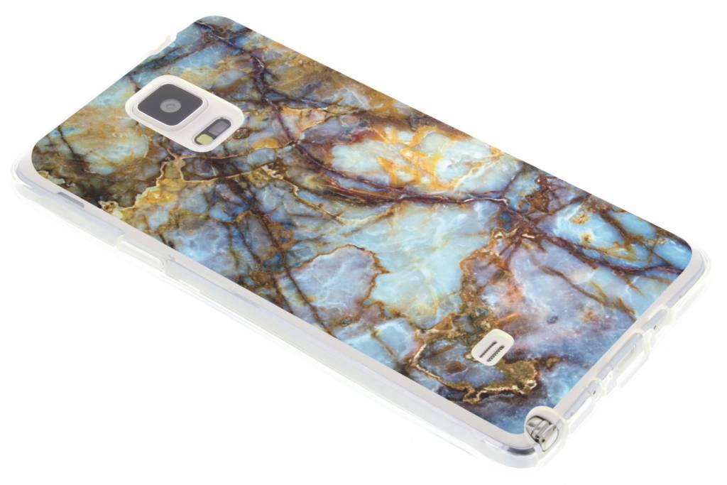 Marmer design TPU siliconen hoesje voor de Samsung Galaxy Note 4