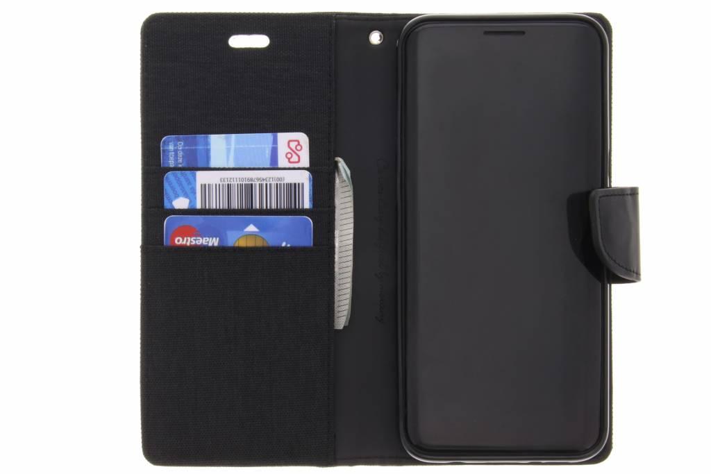 Toile Noire Cas De Journal Pour Samsung Galaxy S8, Plus