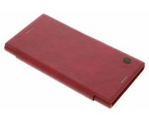 Nillkin Qin Leather slim booktype Sony Xperia XZ Premium