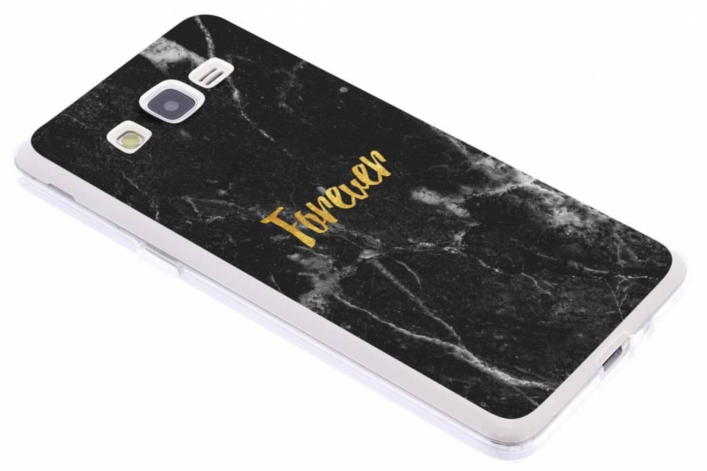 BFF Black Marble Love TPU hoesje voor de Samsung Galaxy Grand Prime