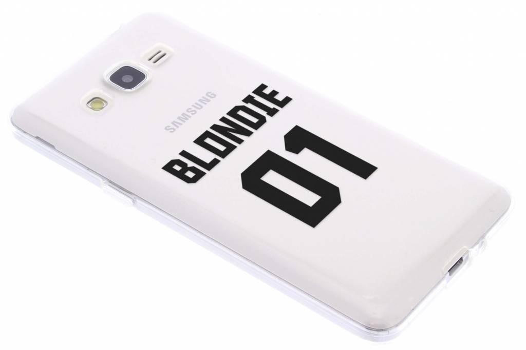 BFF Blondie Love TPU hoesje voor de Samsung Galaxy Grand Prime