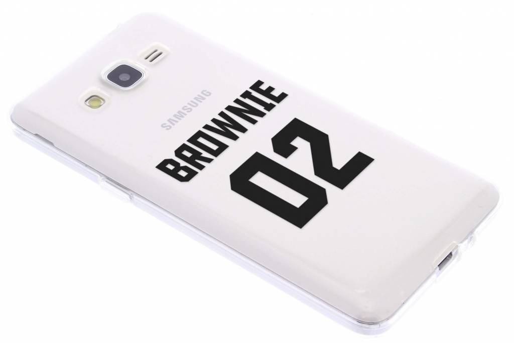 BFF Brownie Love TPU hoesje voor de Samsung Galaxy Grand Prime