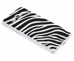 Dierenprint design Zebra TPU hoesje Galaxy Grand Prime