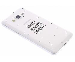 Quote design TPU hoesje Samsung Galaxy Grand Prime