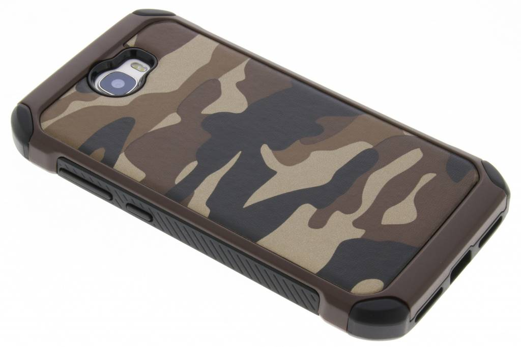 Bruin army defender hardcase hoesje voor de Huawei Y5 2 / Y6 2 Compact