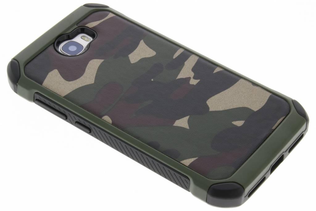 Groen army defender hardcase hoesje voor de Huawei Y5 2 / Y6 2 Compact