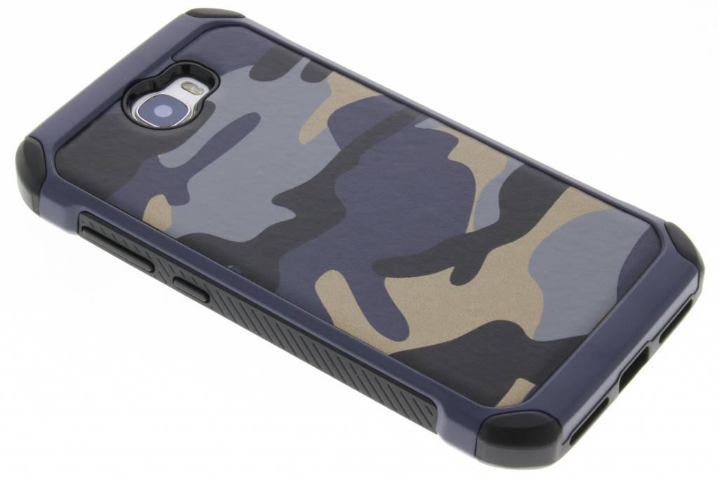 Blauw army defender hardcase hoesje voor de Huawei Y5 2 / Y6 2 Compact