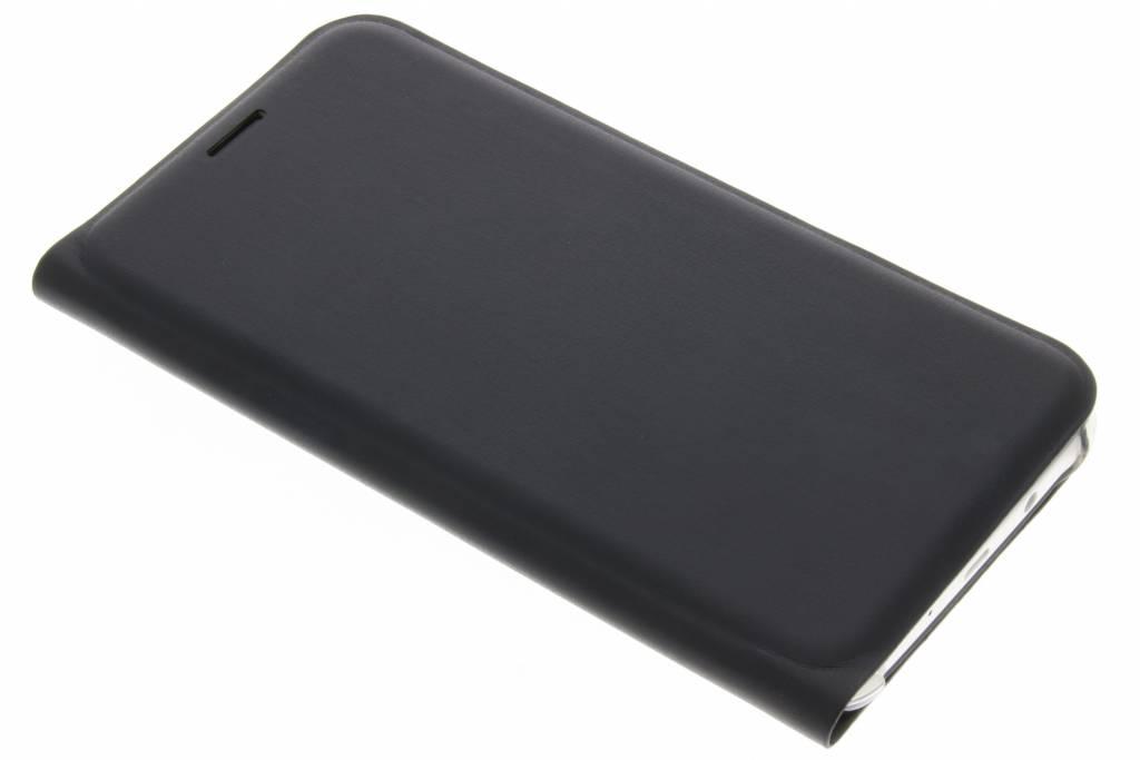 Luxe Noir Cas Intelligent De Type Livre Pour Samsung Galaxy J5 LLhZS