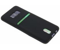 TPU Siliconen card case Samsung Galaxy S8