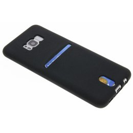 Noir Tpu Carte Silicone Pour Samsung Galaxy A5 (2016) OXgd90lVc