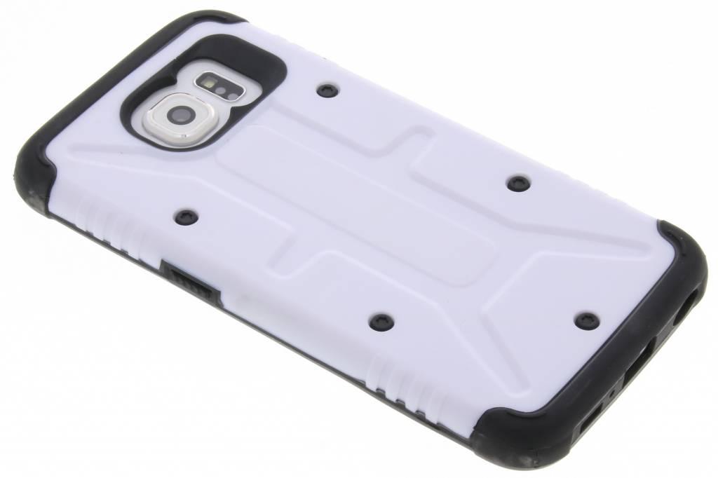 Witte Xtreme defender hardcase voor de Samsung Galaxy S6