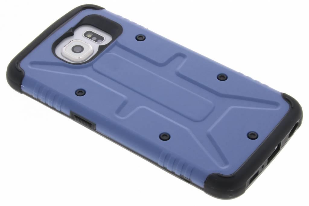 Blauwe Xtreme defender hardcase voor de Samsung Galaxy S6