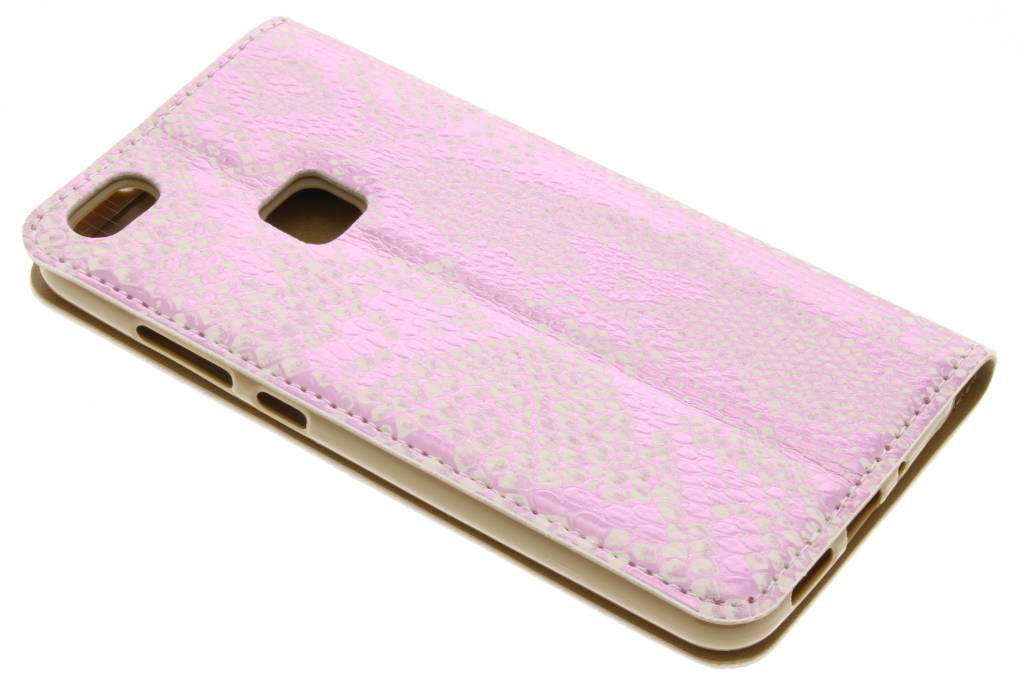 Luxe Rose Serpents Tpu Booktype Pour Lite Huawei P10 9I9HKAS