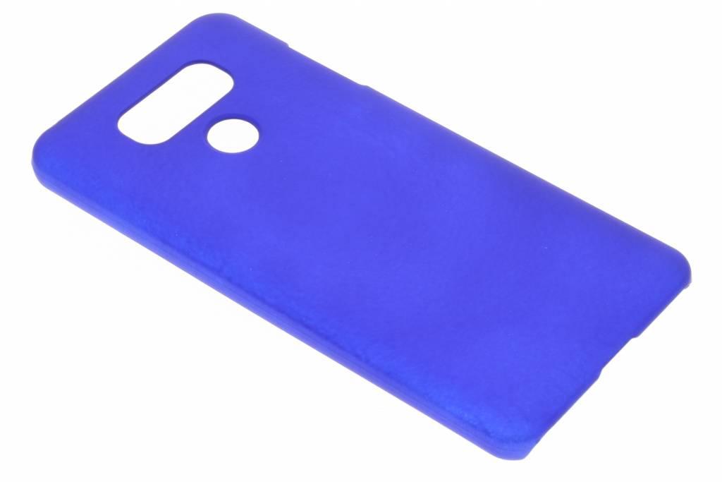 Blauw effen hardcase hoesje voor de LG G6