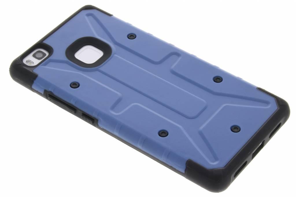 Blauwe xtreme defender hardcase voor de Huawei P9 Lite
