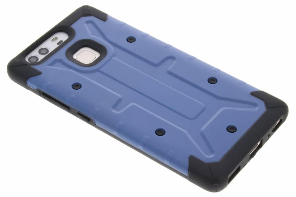 Blauwe Xtreme defender hardcase voor de Huawei P9