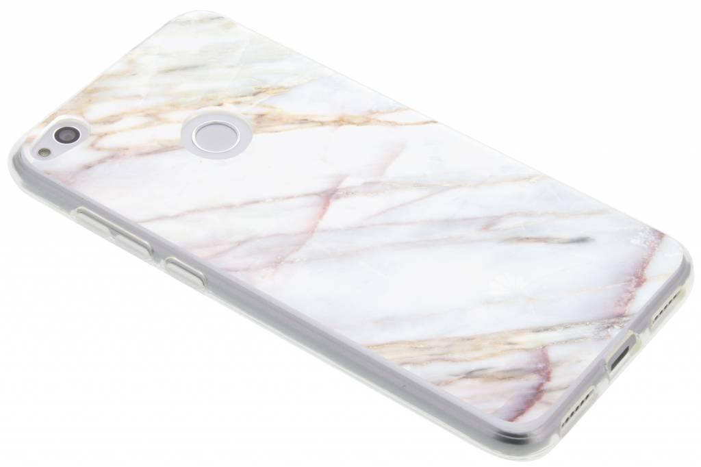 Marbre Designa Cas De Tpu Pour Huawei Lite P8 VrP38hc05d