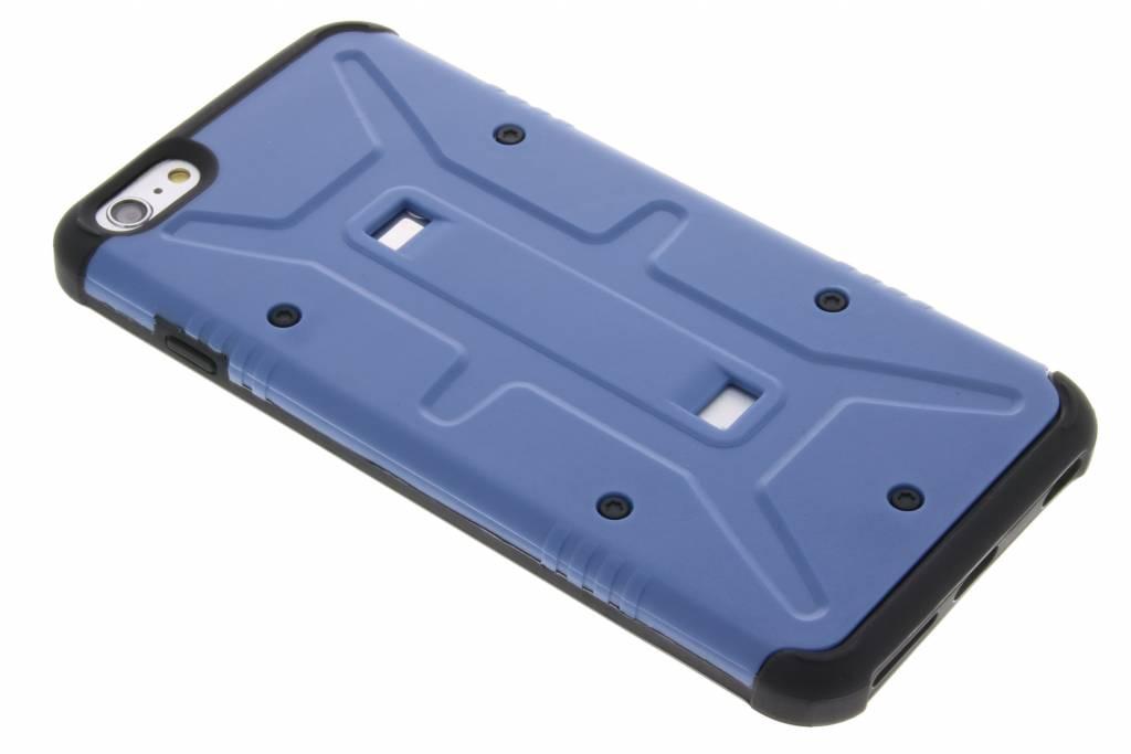 Blauwe xtreme defender hardcase voor de iPhone 6(s) Plus