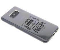 Dreams Quote TPU hoesje Samsung Galaxy S8 Plus