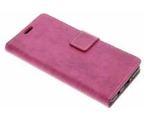 Roze Vintage look booktype LG K4 (2017)
