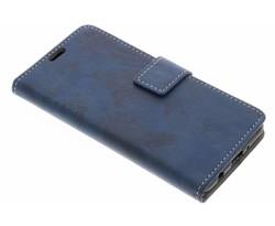 Blauw vintage look booktype LG K4 (2017)