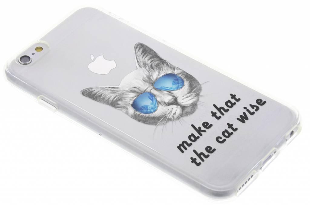 Cat design TPU hoesje voor de iPhone 6 / 6s